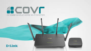Covr AC3900 Wi-Fi System features D-Link Wi-Fi app.