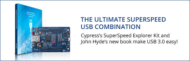 Cypress EZ-USB FX3 Controllers feature up to 121 pins.