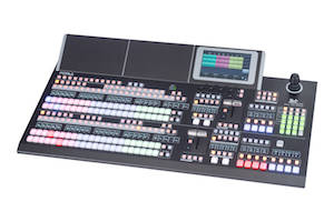 HVS-490 Video Switcher offers 4K-UHD and 3G capabilities.