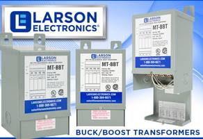 Buck-boost Transformers for Industrial Equipment
