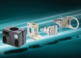 Sensor Mounting Brackets provide 360° vertical and horizontal adjustment.