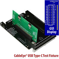 CableEye® USB Test Fixture Board uses CB26 small-frame motherboard.