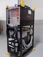 Hoistable Induction Generator comes with vibration isolation frame.