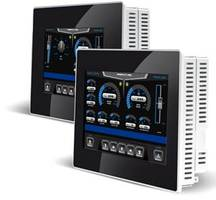 Exor UniOP eTOP310 HMI is offered with on-board PLC.