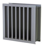 EME520V 5 in. Vertical Louver is AMCA certified.