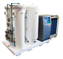 PSA Nitrogen Generator can store up to 13,500 cf of N2 gas.