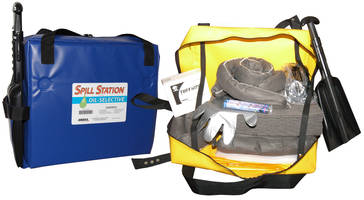 Portable Spill Station contains up to a 12 gal spill.