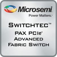 Switchtec PAX PCIe Switch features port density of up to 48 ports.
