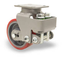 AE Series Casters offer smooth swiveling.