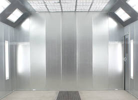 General Purpose Paint Booths are made of G90 sheet steel.