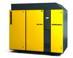 Rotary Screw Compressors feature hydraulic inlet valves.