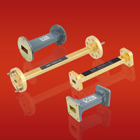 Straight Waveguide Sections deliver VSWR as low as 1.03:1.