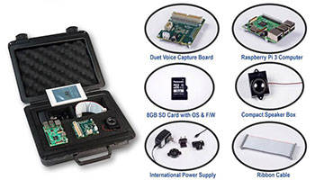 Voice Capture Development Kit is used for intelligent voice control service.