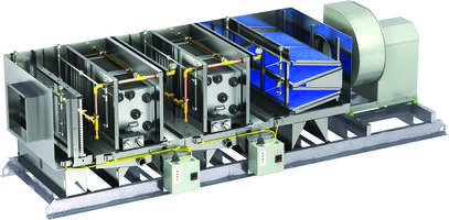 Grease Trapper Pollution Control Unit meets UL 867 and UL 1978 standards.