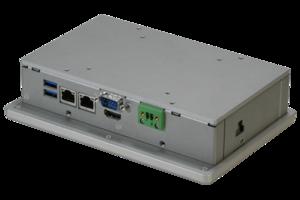 ACP-1000 Series Touch Panel PCs feature aluminum casing.