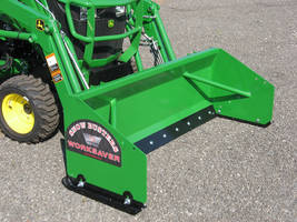 20-Series Snow Pushers feature adjustable skid shoes.