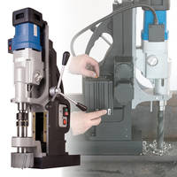 MAB 1300 V Magnetic Drill features automatic cooling/lubrication system.