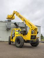 Extendo 944B Telehandler is equipped with a rear axle stabilization system.