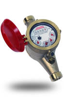 WM-NLCH Series Hot Water Meter comes with a strainer.
