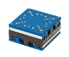 U-723 Mini XY Stage is integrated with optical linear encoders.