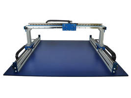 Single Rail Positioning Stage comes with 1-micron resolution encoders.