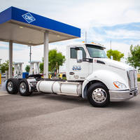 Type 3 Rail Mount CNG Fuel System features aluminum cylinder.
