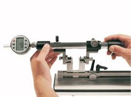 Bore Gage Setting Tool is made of anodized aluminum.
