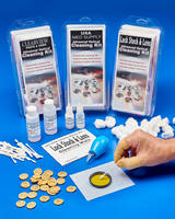 Optical Cleaning Kit consists of reagent-grade isopropyl alcohol.