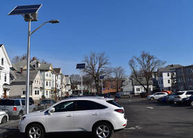 SolarViper Systems Illuminate Great Lawrence Family Health Center Parking