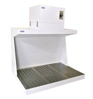 Downflow Workstation, Ductless Downdraft Hood