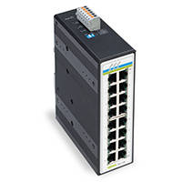 Unmanaged Gigabit Switch comes with LED Identification on each port.