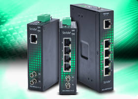 Power over Ethernet Switches come in IP30 metal cases.