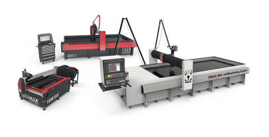 GlobalMAX® Abrasive Waterjet is embedded with Intelli-MAX software.