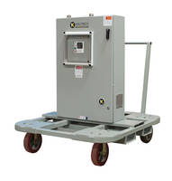 Tankless Water Heaters come with transportable carts.