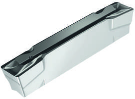 GX Tiger·tec® CVD Grooving and Parting Grades come with silver flank face.