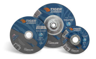 Tiger® Aluminum Wheels feature a blend of cutting grains.