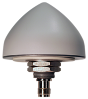 50dB GNSS Antennas are available in flat or conical shapes.