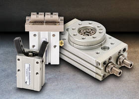 AutomationDirect adds NITRA Pneumatic Rotary Actuators & Grippers