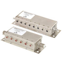Relay Controlled Programmable Attenuators are RoHS compliant.