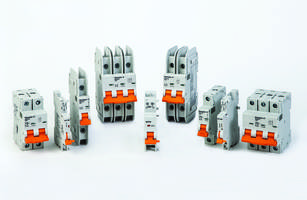 AC/DC-Rated Circuit Breakers feature cuttable busbars.