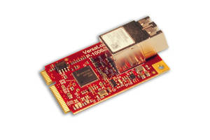 Ethernet over Fiber Mini PCIe Module is RoHS compliant.