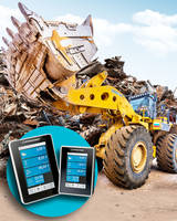 Wheel Loader Scale features touch-display digital readout.