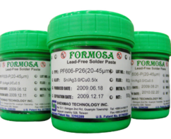 PF606-P245 Lead-free Solder Paste offers continuous high-speed printability.