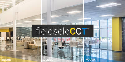 fieldseleCCT™ Lighting comes with built-in fixture switch.