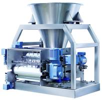 905-18 Volumetric Feeder is made of 304 stainless steel.