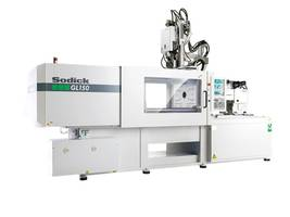 Horizontal Injection Molding Machines come with Sodick's V-Line two-stage plunger system.
