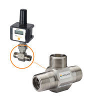 TW Series Turbine Flow Meter features 316 stainless steel constructions.