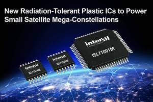 Radiation-Tolerant Plastic ICs are designed for small satellites.