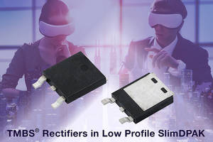 New TMBS® Rectifiers from Vishay Intertechnology are RoHS-compliant.