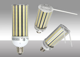 40W LED Area Lamp delivers 3,400 lumens.